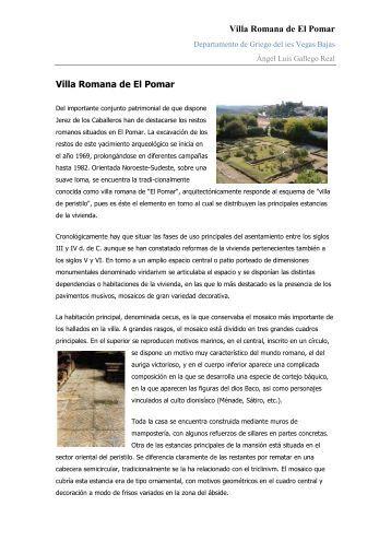 Villa Romana de El Pomar