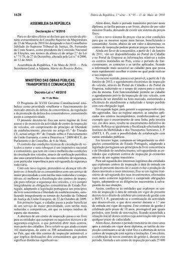 Decreto-Lei n.º 48/2010 - Diário da República Electrónico