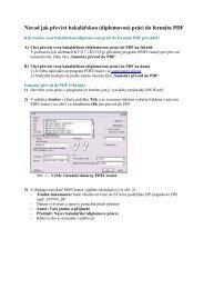 Návod na převod BP (DP) do PDF formátu pomocí programu ...