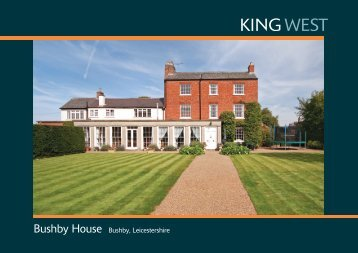 Bushby House Bushby, Leicestershire