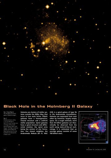 Black Hole in the Holmberg II Galaxy
