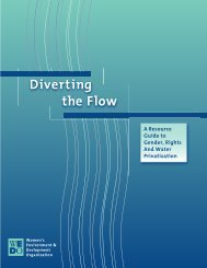 Diverting the Flow - Holy Cross International Justice Office