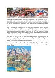 Erlebnisbericht vom Jungfrau-Marathon (Schweiz ... - TCEC Mainz