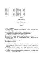 Ustawa z dnia 27 marca 2003 r. o planowaniu i zagospodarowaniu ...