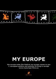 My Europe 2008 Catalogue - Citizens of Europe