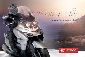 myroad 700i abs - Kymco