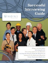 Successful Interviewing Guide - Iowa Workforce Development