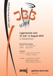 Konzertprogramm 2013 für den Download (4 MB) - SOBV ...