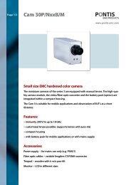 Datasheet CAM 3 (pdf) - PONTIS EMC Products
