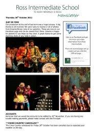 T4W1 Newsletter 11 - Stuff