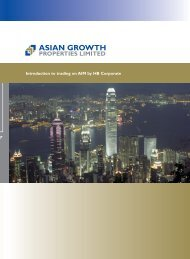 AIM Admission Document 10 Jan 2006 - Asian Growth Properties ...