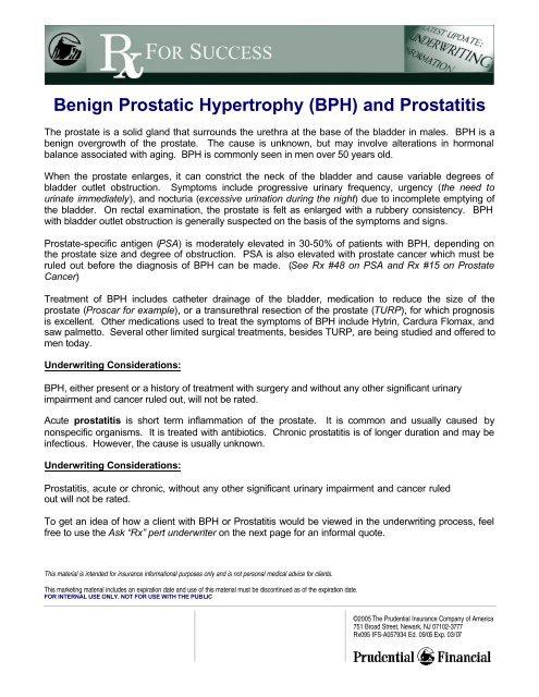 50 éves prostatitis
