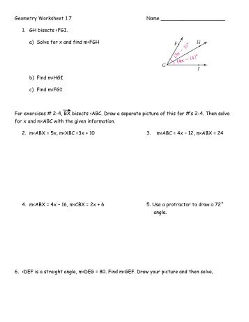 Geometry worksheet 2 geometry worksheet 17 name fandeluxe Image collections