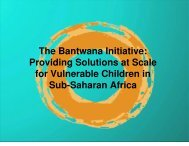 Bantwana - The Bantwana Initiative