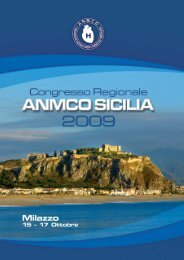 Congresso ANMCO Sicilia 2009 - Programma Cardiologi