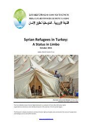 Syrian Refugees in Turkey: - Refworld