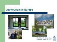 Agritourism in Europe - University of California Small Farm Program