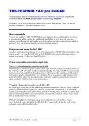 TDS-TECHNIK pro ZwCAD