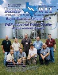 Texas Wet newsletter.qxp - Water Environment Association of Texas