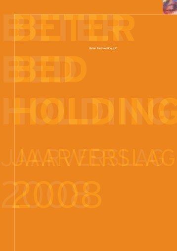 Beter Bed jaarverslag 2008 - BeursGorilla