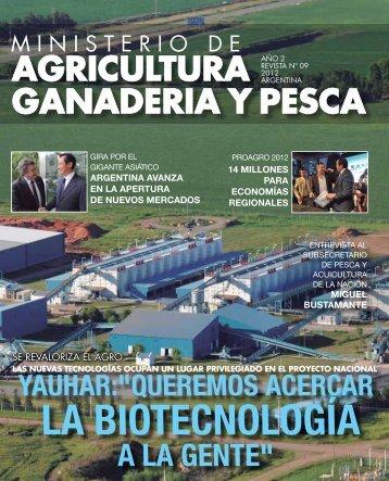 LA BIOTECNOLOGÍA - Ministerio de Agricultura, Ganadería y Pesca