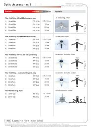Fiber Optic Accessories - TiME Signages & Luminaries