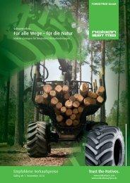 Für alle Wege – für die Natur - ForesTree Austria. A-1200 Wien