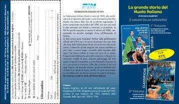 La grande storia del Nuoto Italiano