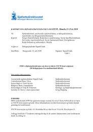 Rapport dipkon STCW 2010. - Sjøfartsdirektoratet