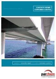 concrete repair / corrosion control - Parchem