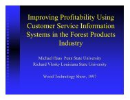 Improving Profitability Using Customer Service Information Systems ...
