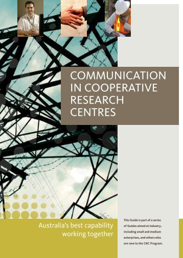 COMMUNICATION IN COOPERATIVE ... - CRC Association