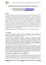 Competindo através da competência essencial - UTFPR