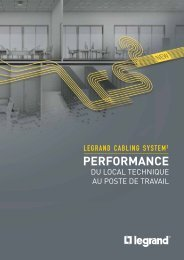 PERFORMANCE - Legrand