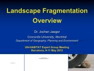 Landscape Fragmentation Overview, Jochen Jäger ... - nrg4sd.org