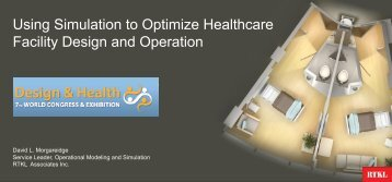 10.35-11.00 Using Simulation to Optimize Healthcare Facility ...