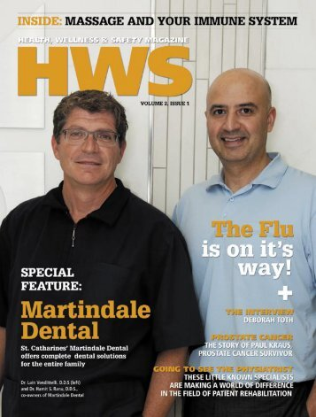 WWW.HWSMAG.COM HWS HEALTH, WELLNESS & SAFETY ...
