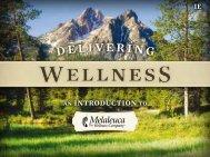 Delivering Wellness Presentation - Melaleuca