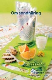 Om sondnäring - Nestlé Nutrition