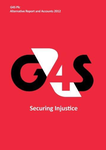 G4S Alternative Annual Report - UK Indymedia