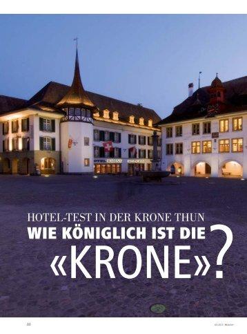 Wie königlich ist die - hoteljournal.ch