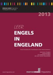 Engels in Engeland - Linguarama