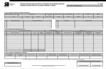 4414 - Servicio de Impuestos Internos