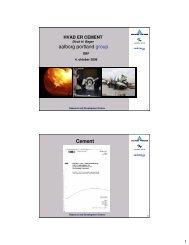 aalborg portland group Cement - Dansk Betonforening