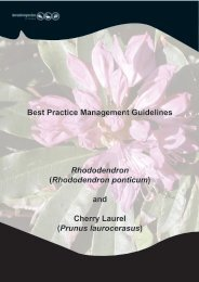 Best Practice Management Guidelines Rhododendron - Invasive ...
