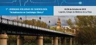 1 JORNADAS RIOJANAS DE CARDIOLOGÍA - Congresos Médicos