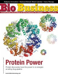Protein discoveries have the power to re-energize an ... - Bio Business