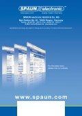 Home Distribution-, MATV-, CATV- and Line Amplifier - Spaun - Page 4