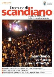 Maggio 2012 - Comune di Scandiano