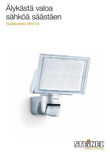 Tuoteluettelo Steinel-kuluttajatuotteet 2013/2014 - Hedtec Oy